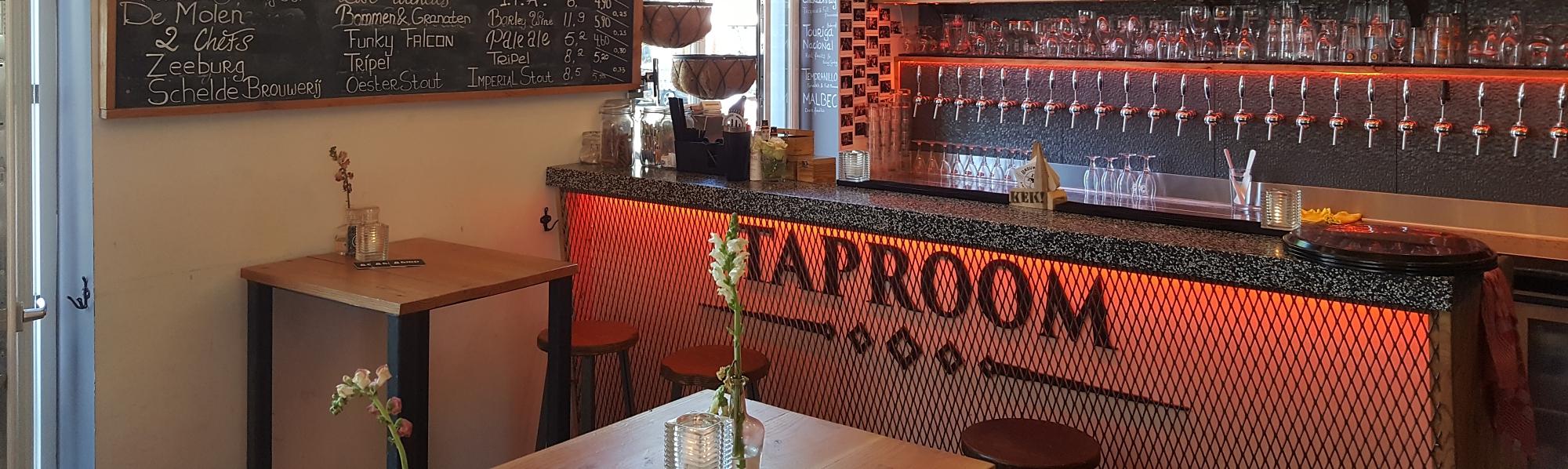 Taproom in Amsterdam