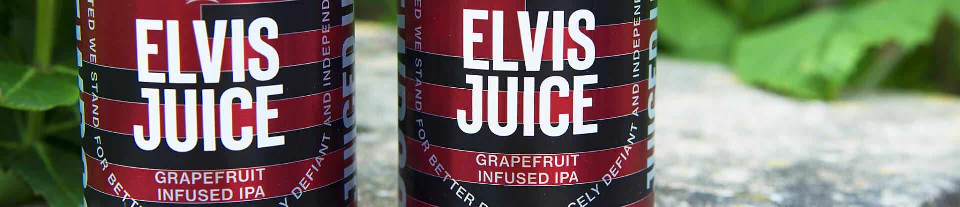 Elvice Juice, Grapefruit Infused IPA - Brewdog