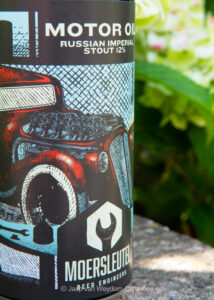 Moersleutel Craft Brewery - MOTO OIL Russian Imperial Stout
